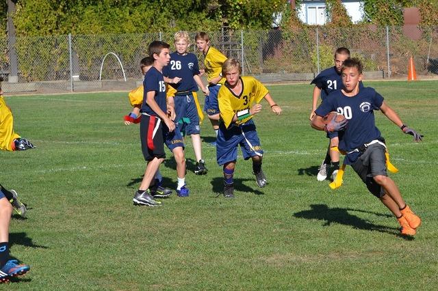 Flag football sport youth, sports.