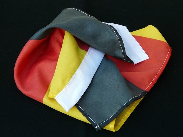 Flag germany black.
