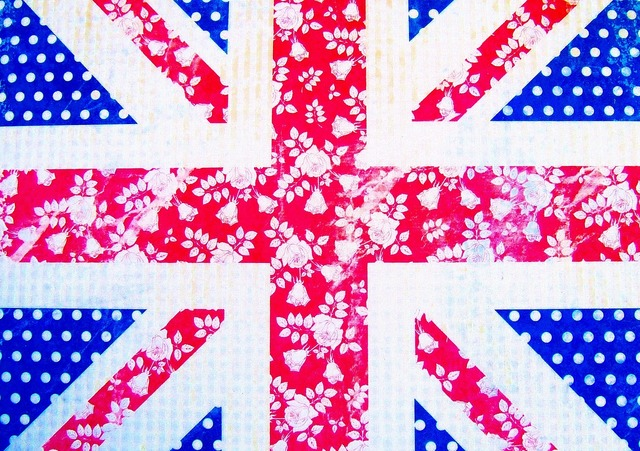 Flag hand made union jack, beauty fashion.