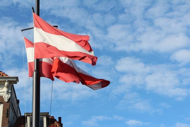 Flags gouda summer.