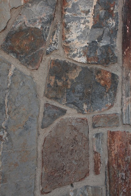 Flagstones wall background, backgrounds textures.