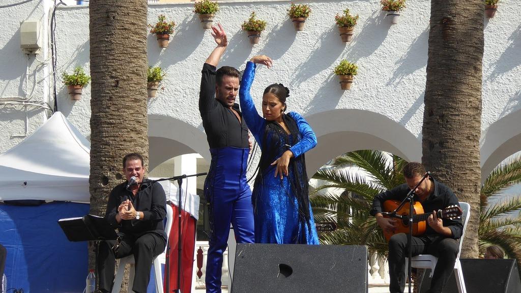 Flamenco dance music, sports.