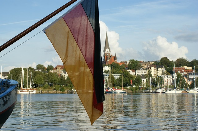 Flensburg germany flag.