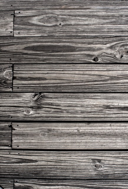 Flooring plank black and white.
