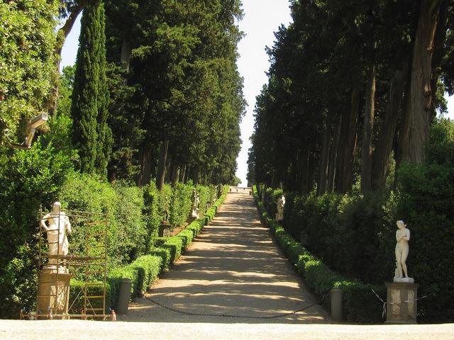 Florence boboli garden italy.