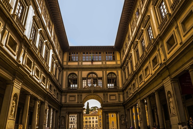 Florence italy urban, architecture buildings.