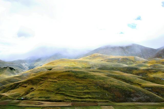 Fog campaign hills.