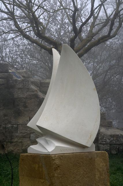 Fog sculpture artwork.