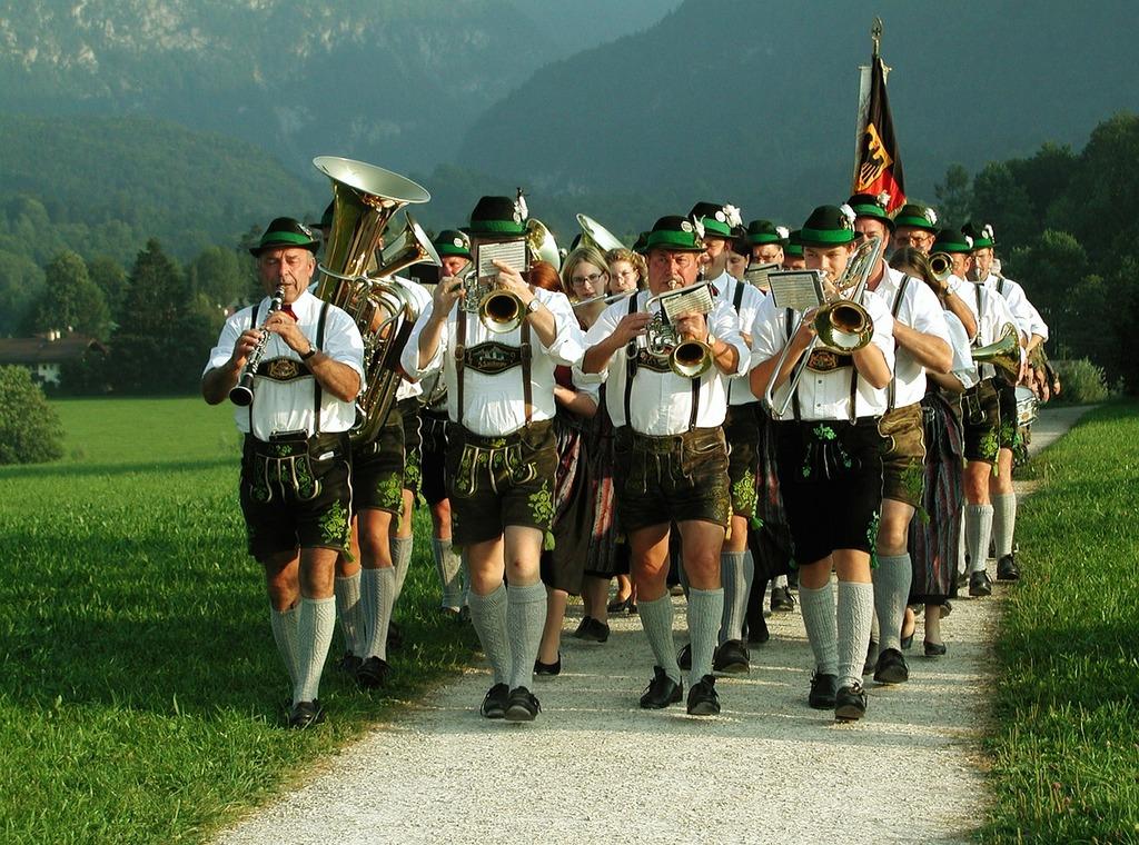 Folk music customs group of people, music.