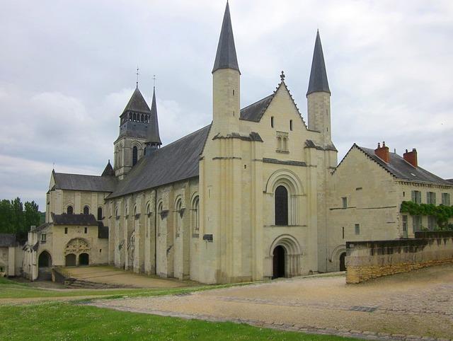 Fontevraud abbey abbey monastery.