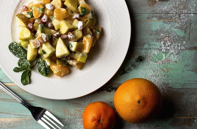 Food fruit salad, food drink.