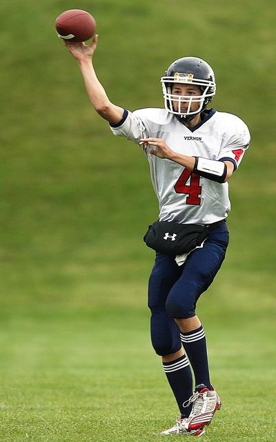 Football american football quarterback, sports.