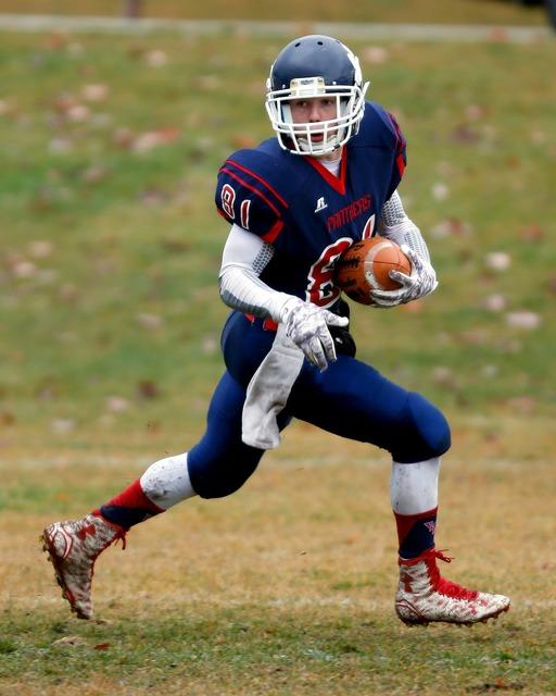 Football american football receiver, sports.