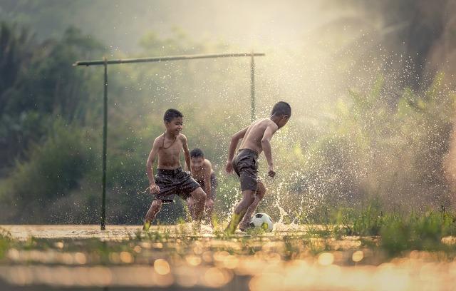 Football children sports, sports.