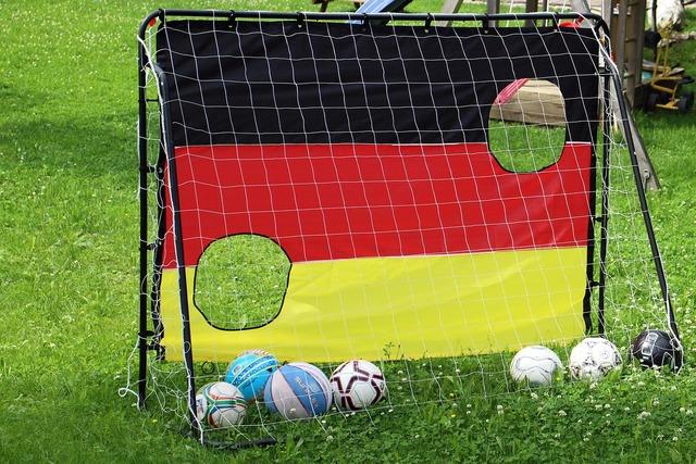 Football goal network balls, sports.