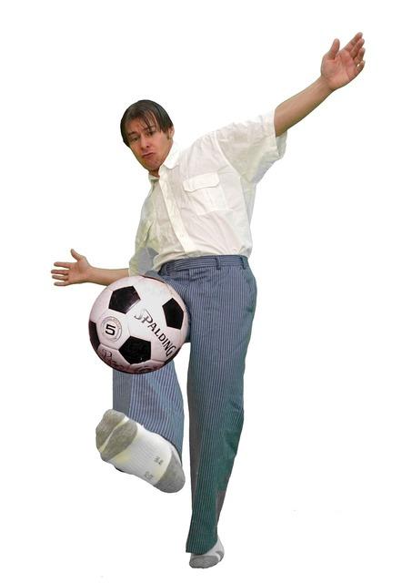 Football shot weft, sports.