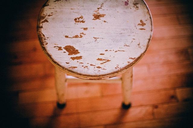 Footstool stool chair.