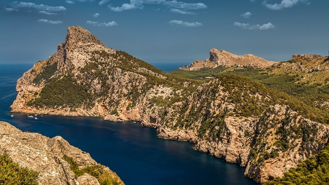 Formentor mountains mountain, nature landscapes.