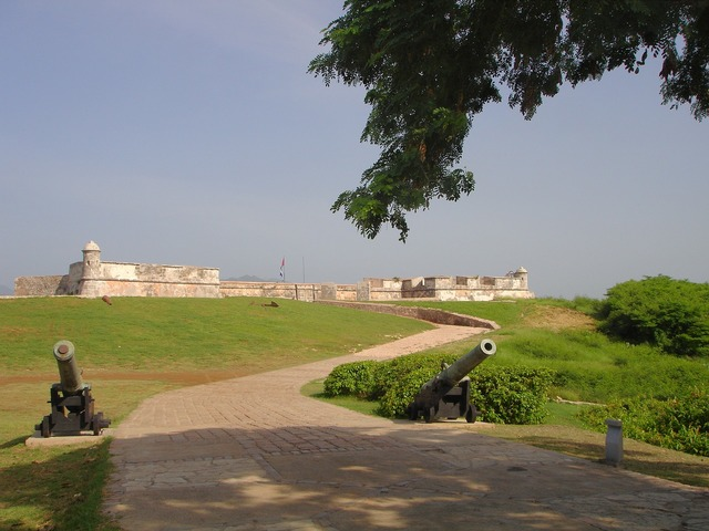 Fort castle santiago de cuba.