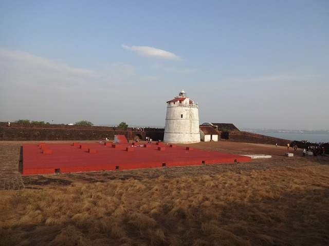 Fort watchtower aguada, places monuments.