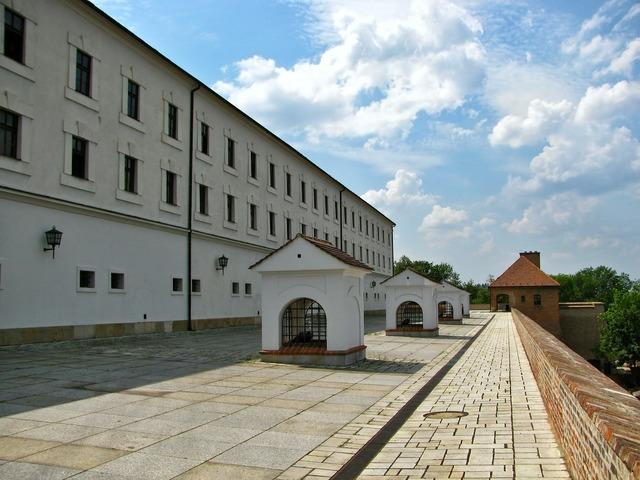 Fortress castle prison.