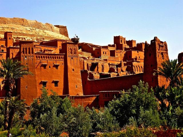 Fortress morocco adobe.