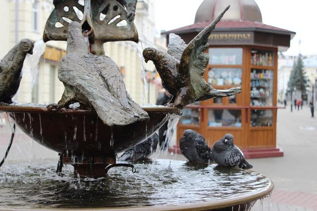 Fountain russia water.