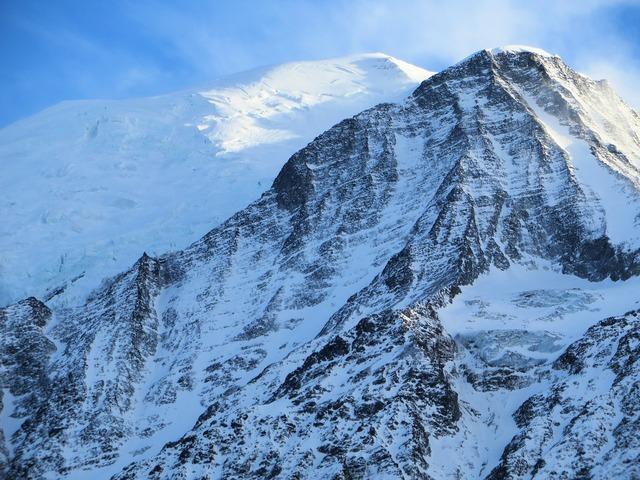 France alps mont blanc.