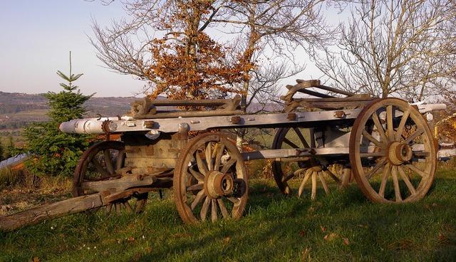 France cart farmer.