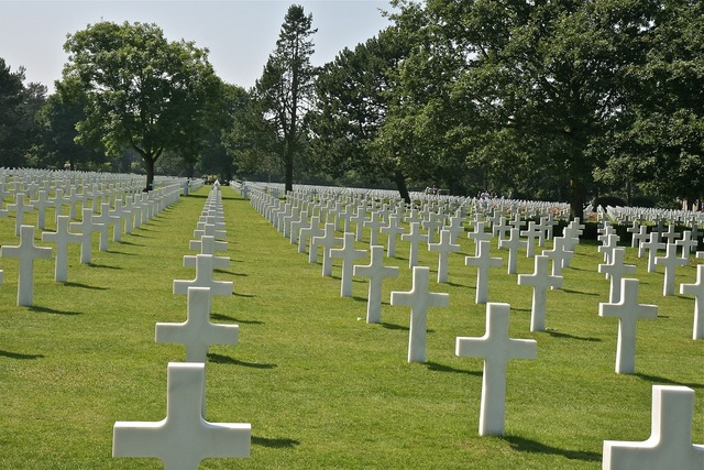 France cemetery normandy.