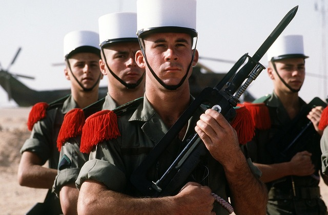France french foreign legion.