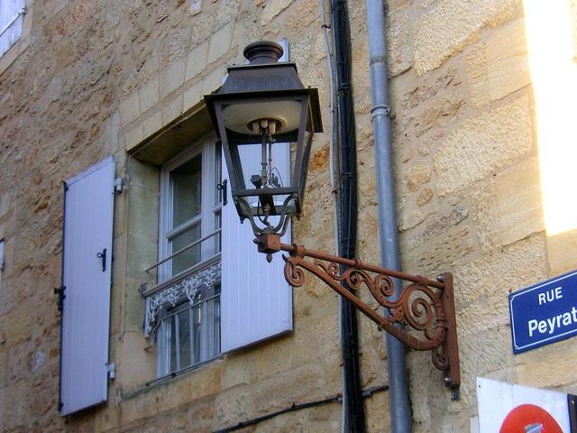 France french gas lamp, transportation traffic.