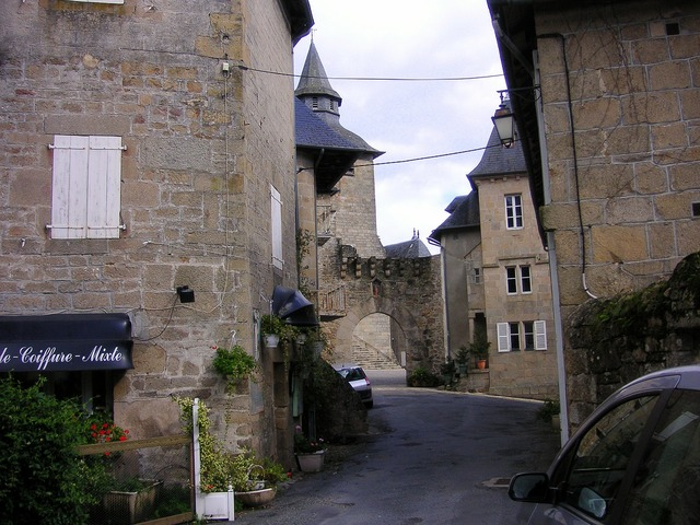France french houses village, architecture buildings.