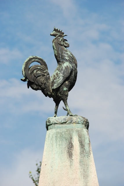 France haan statue.