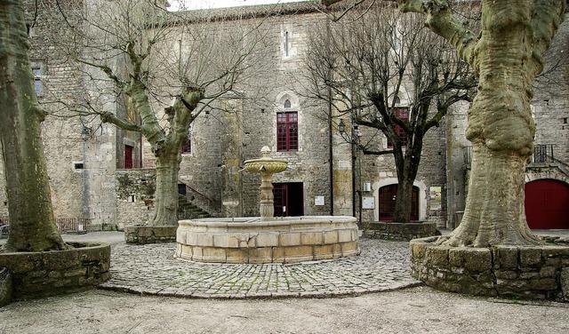 France holy eulalie of cernon medieval village.