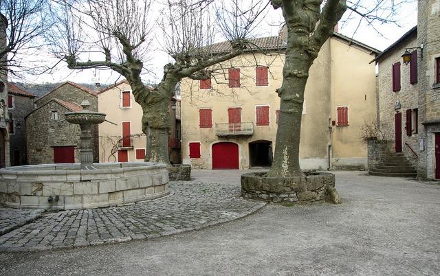 France holy eulalie of cernon village.