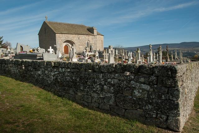 France lozère cemetery.