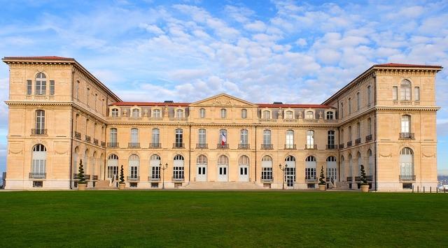 France marseille palais, architecture buildings.