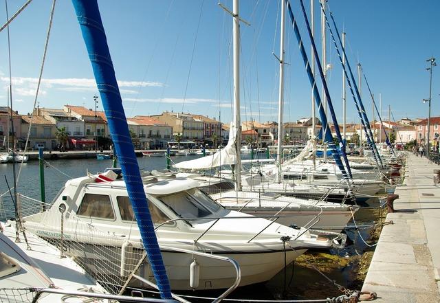 France mediterranean port.