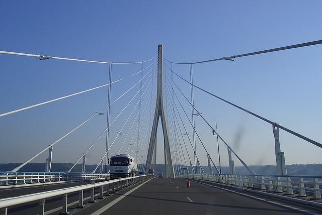 France normandy bridge, architecture buildings.