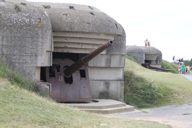 France normandy bunker.