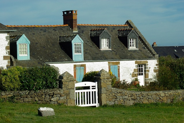 France normandy fisherman's house.