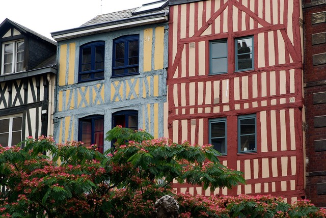 France normandy rouen.