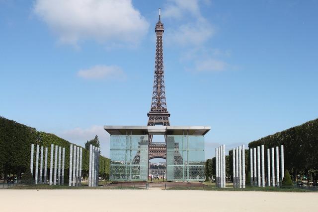 France paris eiffel tower.
