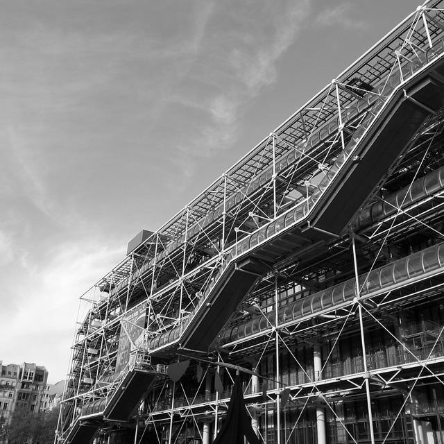 France paris pompidou centre, architecture buildings.