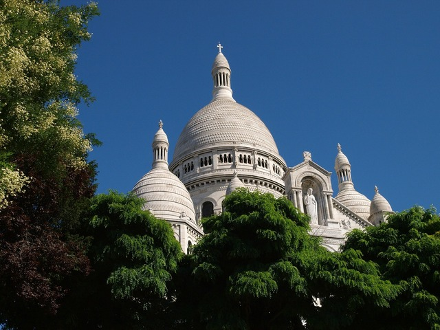 France paris sacred heart.