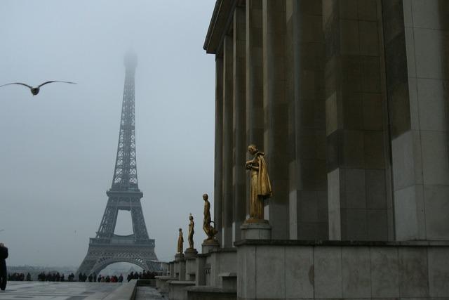 France paris the eiffel tower.