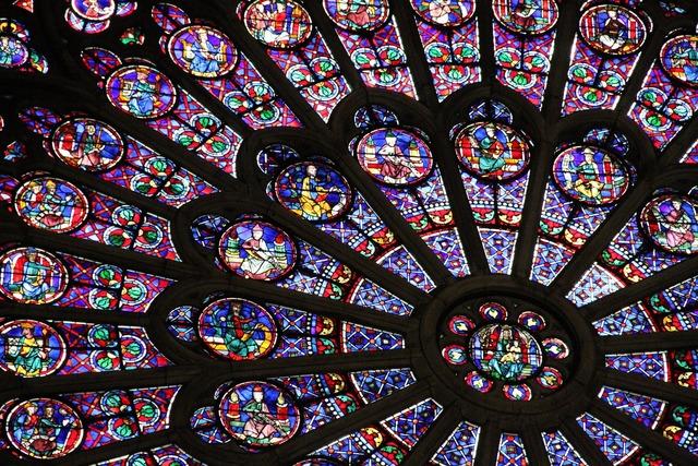 France paris window, religion.