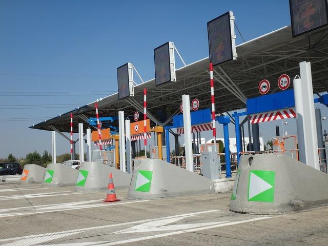 France péage highway.