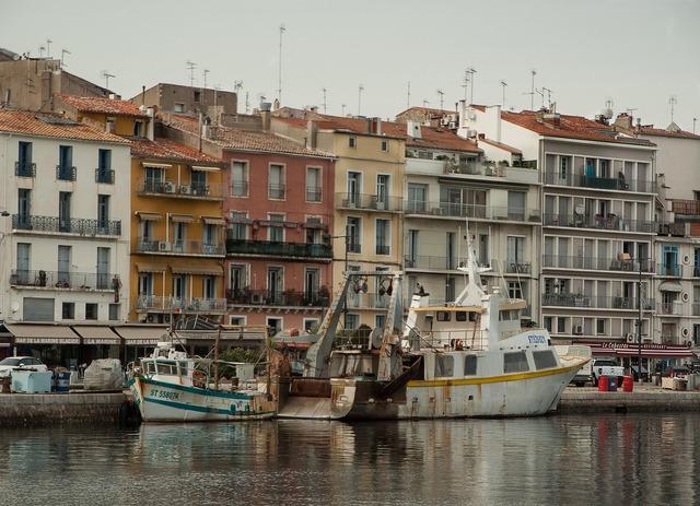 France sète port.